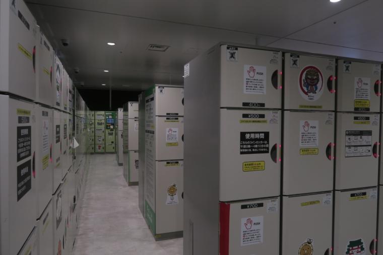 仙台駅ロッカーエリア