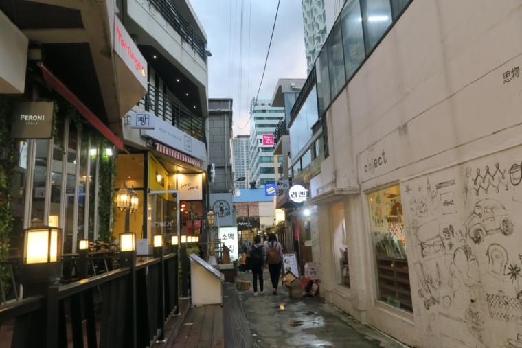田浦カフェ通り_路地