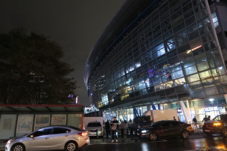 すぐそばに釜山駅