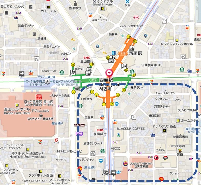 西面MAP