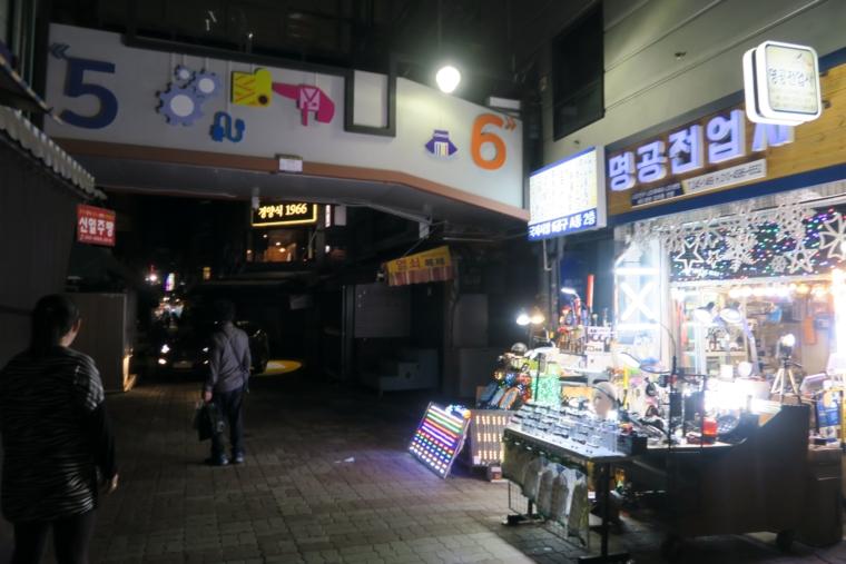 夜の国際市場