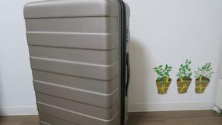 無印良品のスーツケース外観