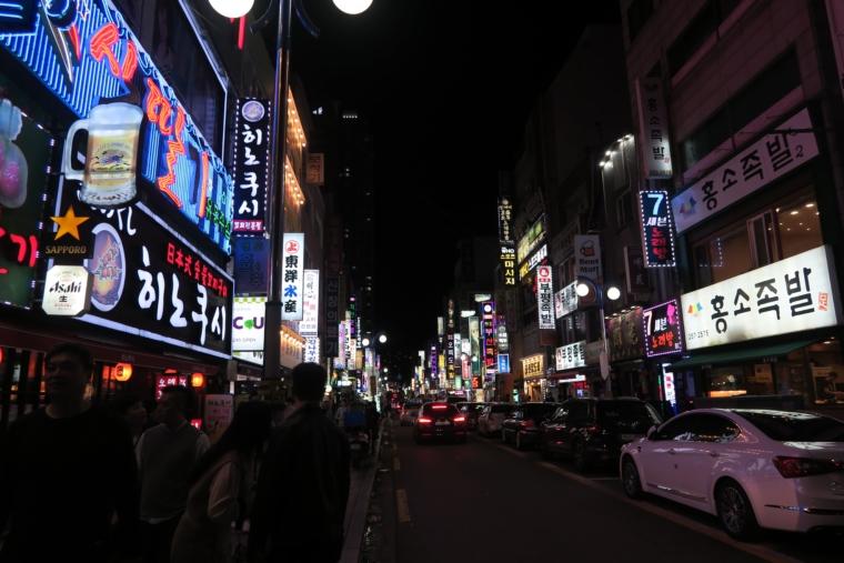 チャガルチ繁華街