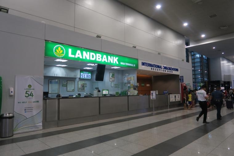 マニラ空港の両替所