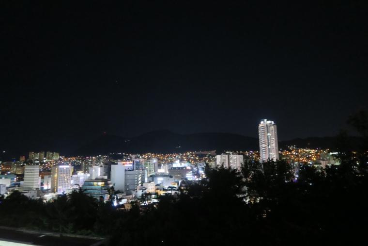 釜山の夜景
