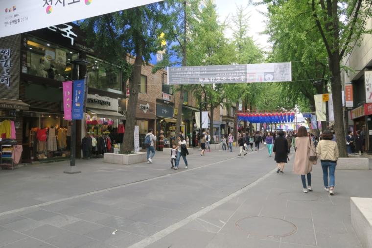 仁寺洞メインストリート
