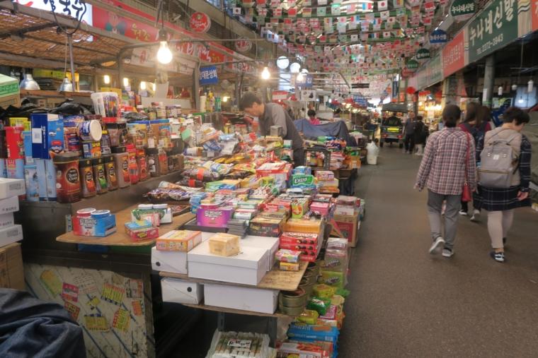 広蔵市場駄菓子コーナー