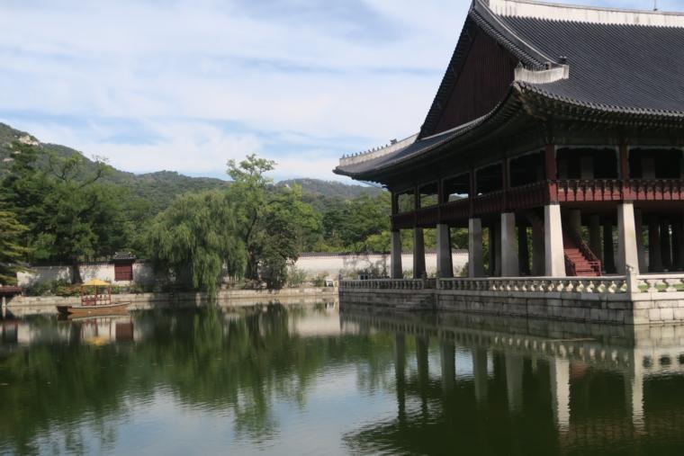 景福宮敷地内