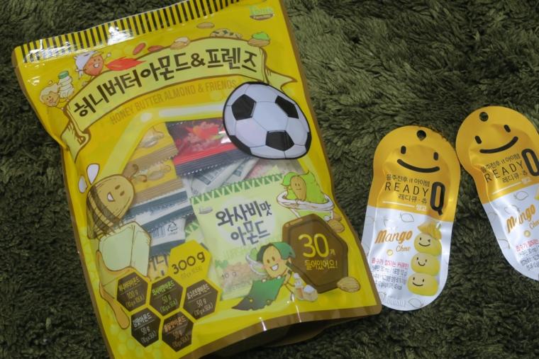 買った韓国のお菓子土産