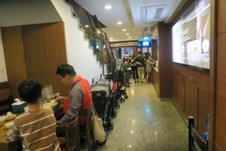 明洞餃子 店内2
