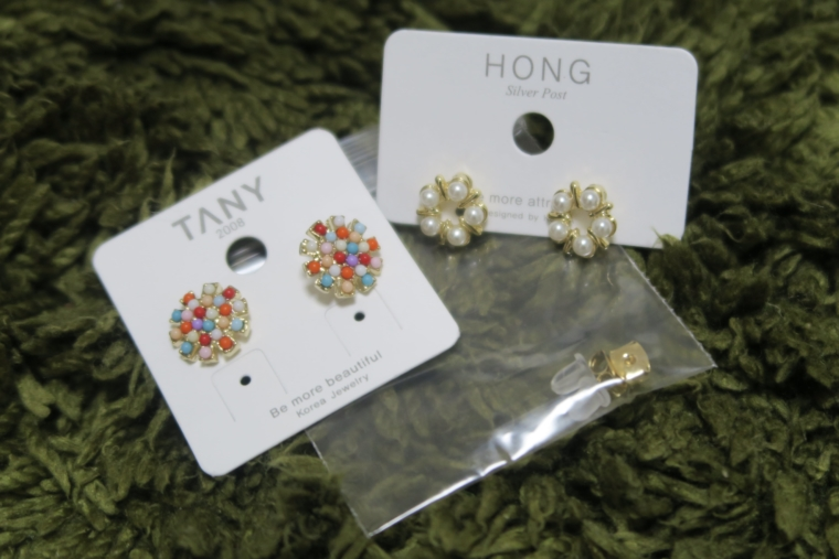 Fashion hong ピアス