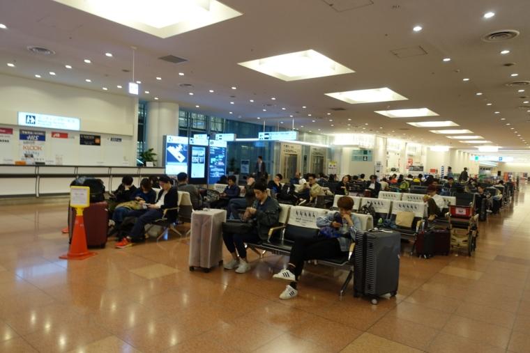 深夜の羽田空港2