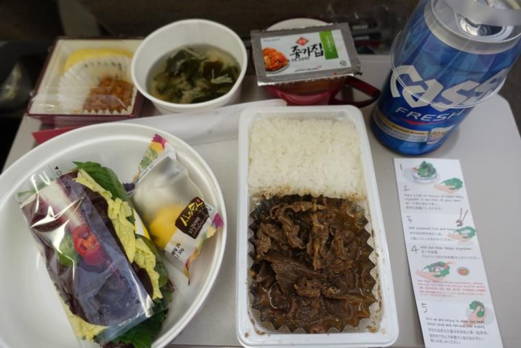 アシアナ航空 food1