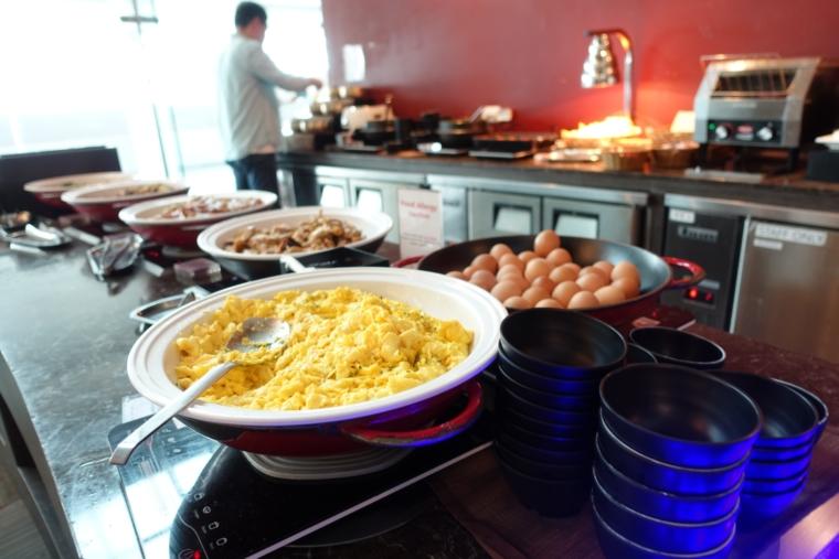 Matina Lounge food