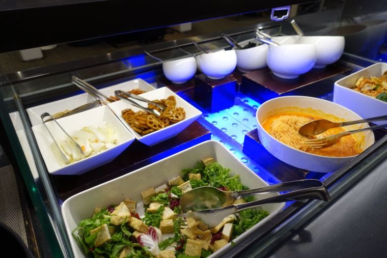 Sky Hub Lounge food
