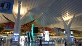深夜の羽田空港1